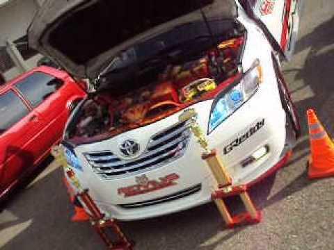 Car Show En Santiago Camry 07 y corolla 97