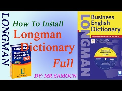 How To Install Longman Dictionary Of Contemporary English 5th Edition Full Version