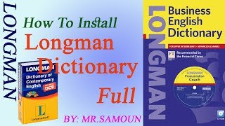 How to Install Longman Dictionary Full Version with Crack, longman ...