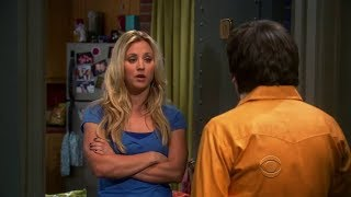 The Big Bang Theory - The teddy bear you gave me had a webcam in it