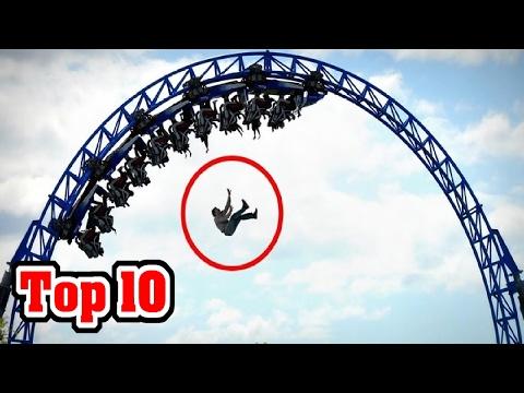 10 CRAZIEST Amusement Park Accidents