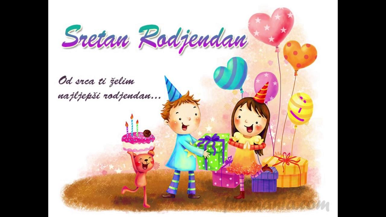 djecije cestitke za rodjendan Najljepše dječje pjesme   Sretan rođendan   YouTube djecije cestitke za rodjendan