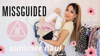 HUGE MISSGUIDED TRY ON HAUL *NEW IN* 2020 SUMMER TRENDS