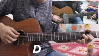 Mere Sohneya Kabir Singh Hindi Guitar Cover Lesson Chords Tutorial Easy