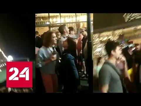 В Новосибирске устроили уличную вечеринку в разгар пандемии - Россия 24