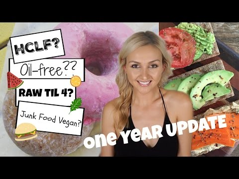 1 Year as a Vegan Update! HCLF, Losing my Period, and Why People Hate Vegans