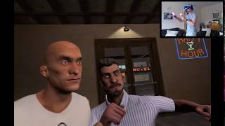 PS4-VR | Drunken Bar Fight | There's gonna be a Fight!