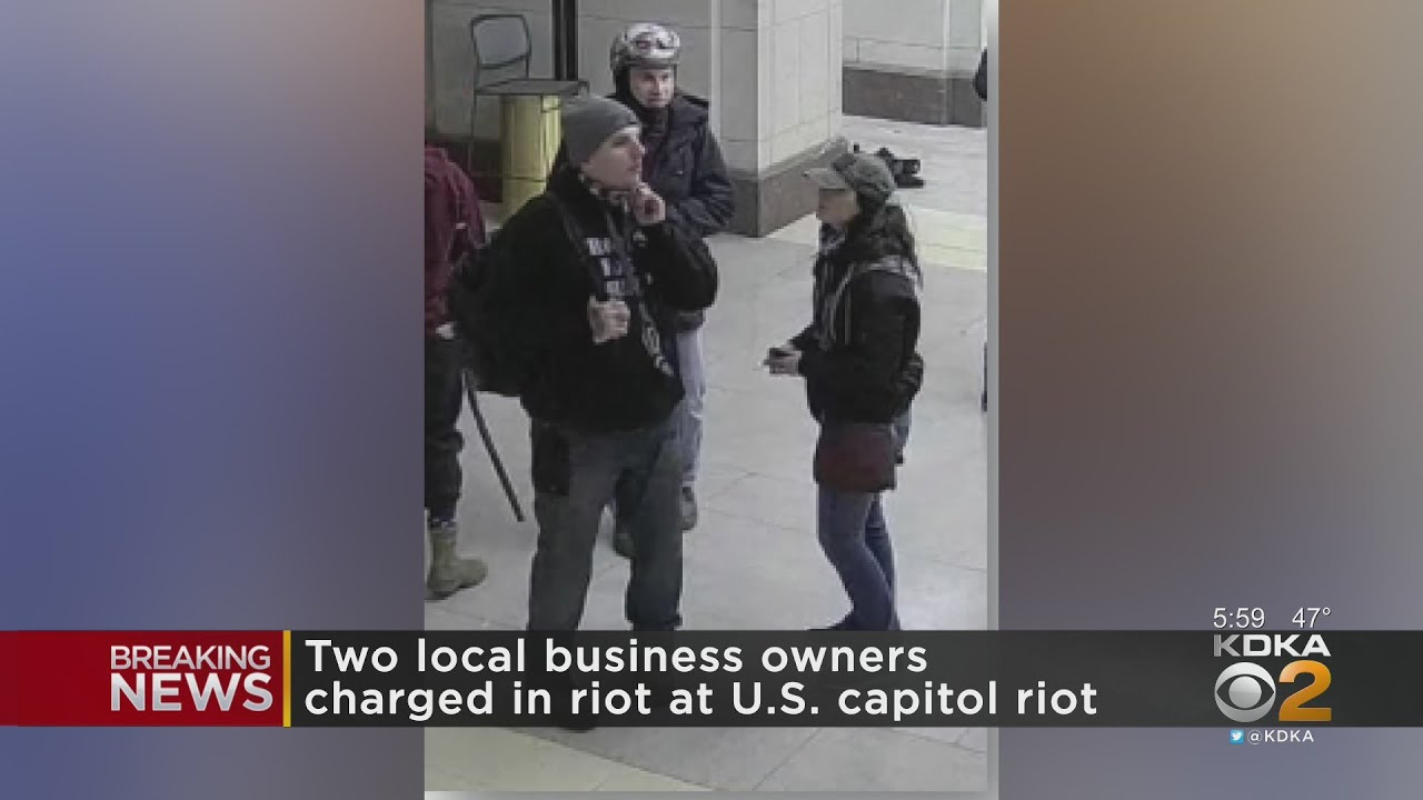 2 New Castle Residents, Business Owners Arrested For Alleged Involvement In U.S. Capitol Riots