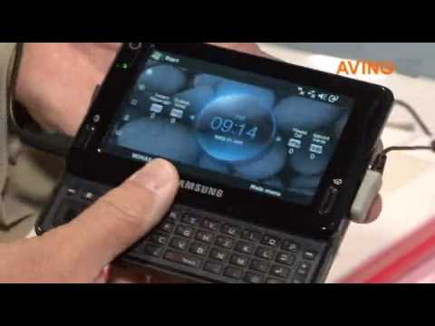 [No-Edit CTIA Wireless 2009] Samsung's WiMAX phone 'Mondi'