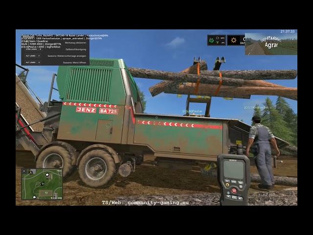 Die Schnee-Farbik | Folge #210 | Let's Play Landwirtschafts Simulator 2017
