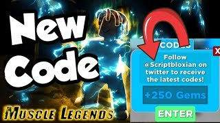 Roblox Muscle Legends New Code!
