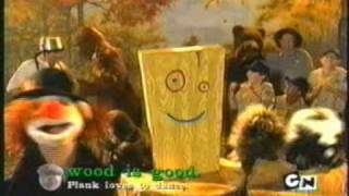 Cartoon Network Wahlen 2004 - Plank-Kampagne, Anzeigen