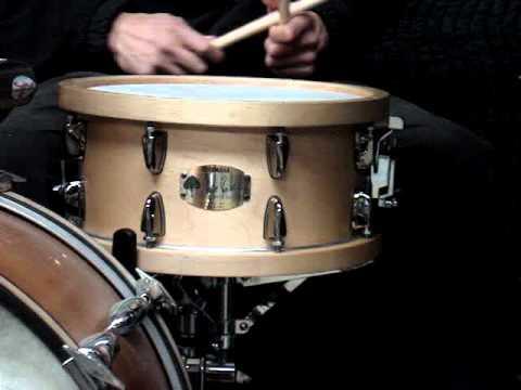 Yamaha Steve Jordan Snare Drum Demonstration Youtube