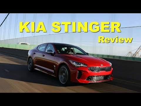 2018 Kia Stinger Review and Road Test