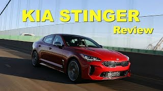 2018 Kia Stinger – Review and Road Test