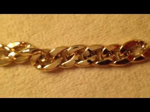 Посылка из Китая № 10!!!!!! Золотой  женский браслет на руку!