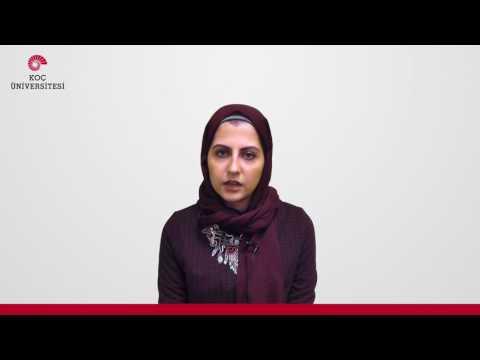 Koç University Student Testimonial - Rawia Hassan Shaheen (Arabic)