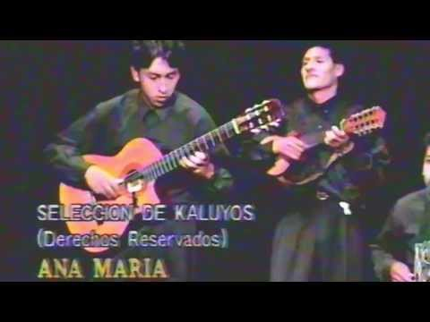 Ana Maria Niño de Guzman y el Grupo Sumaya (Seleccion de kaluyos)