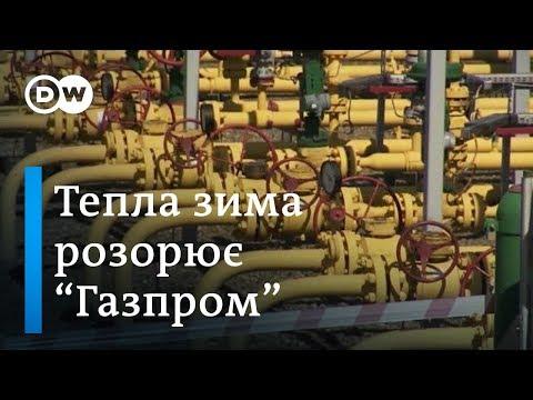 'Газпром' потерпає через