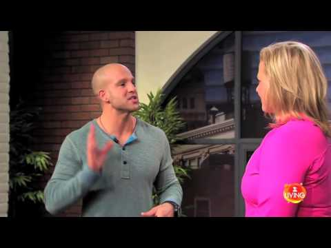Jeff Halevy TV Show Fitness Guru Emme Tate Press Z Living   Workout From Within