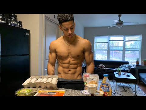 WHAT I EAT TO STAY SHREDDED YEAR ROUND // Full Day of Eating