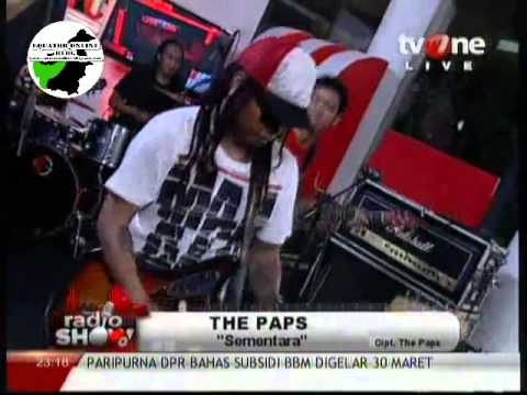 THE PAPS   SEMENTARA @RadioShow tvOne   YouTube1