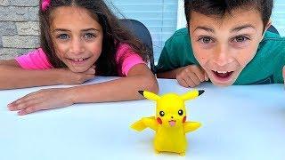 ألعاب Pokemon الأطفال   لعب اطفال Heidi و Zidane