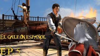 Piratas del Caribe La leyenda de Jack Sparrow [PS2] EP. 5 El galeón español