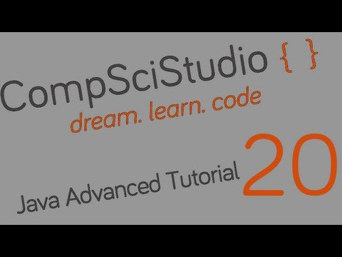Java Advanced Programming Tutorial 20 Encryption