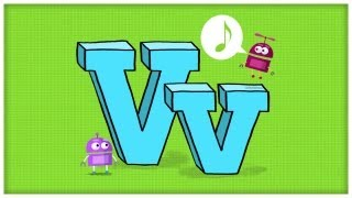 """ABC Song: The Letter V, """"Very V"""" by StoryBots 