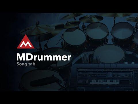 MDrummer #3 - Song tab