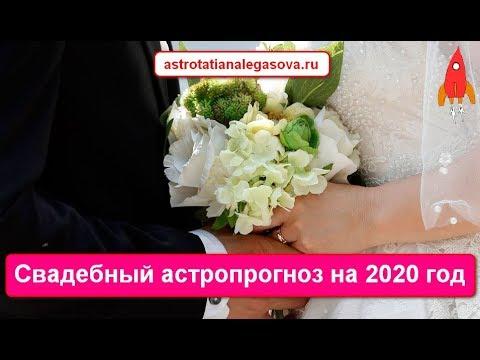 Свадебный астропрогноз на 2020 год / лучшие даты свадеб