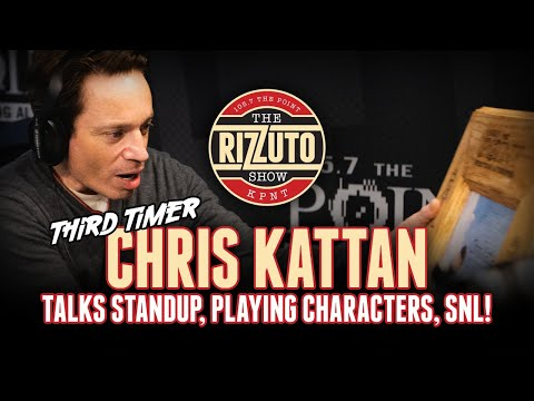 CHRIS KATTAN on leaving SNL, standup comedy and more! [Rizzuto Show]