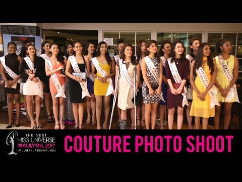 The Next Miss Universe Malaysia 2017: Couture Photo Shoot