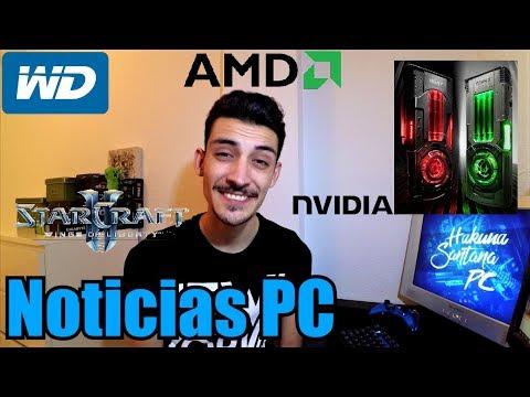 Noticias PC: NVIDIA TITAN XP COLLECTOR`S EDITION, STARCRAFT 2 GRATIS, LA RAM BAJARÁ, HDD 14TB...