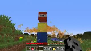 Pat and Jen PopularMMOs Minecraft SKUL DOOM CHALLENGE GAMES Lucky Block Mod Modded Mini Game