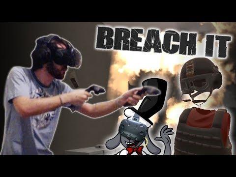 "Breach It Gameplay  - ""VR Rainbow Six Siege"""