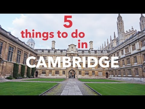 What CAN'T you do at Cambridge University?! Top 5 things to do in CAMBRIDGE, England