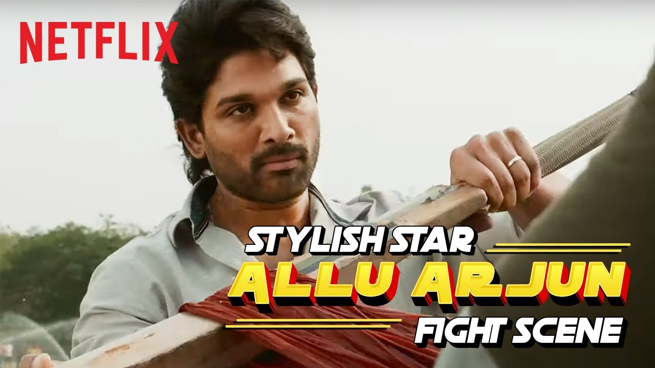 Download Allu Arjun Fight Scene   Ala Vaikunthapurramloo   Netflix India
