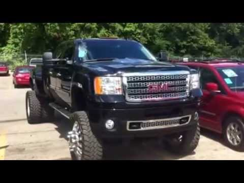 Used Lifted GMC Sierra 3500 Denali Dually Duramax ...