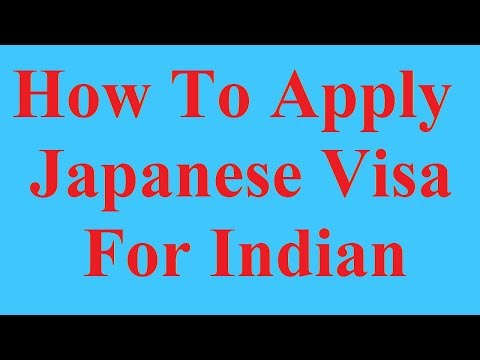 How To ApplyJapanese Visa for Indian ?Hindi Video