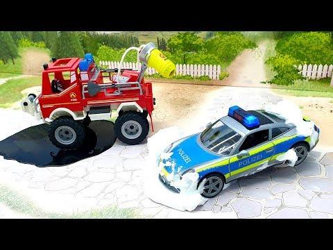 Полицейские машины пожарные машины - Заигрались! Видео 2020