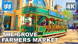 Download Mp3 Walking From Farmers Market To The Grove In Los Angeles, California 【4k】