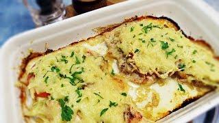 Куриное филе под сырно-овощной шубой | Курица с овощами | Как приготовить курицу(Подписывайтесь https://www.youtube.com/user/spilusgaru Канал