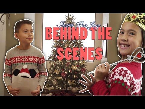 SHARE THE JOY! Behind the Scenes with EvanTubeHD & Toys for Tots!