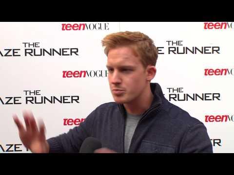 The Maze Runner: Chris Sheffield