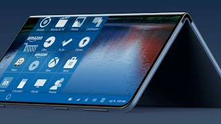 Microsoft : mini surface Andromeda project dual foldable phone