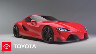 Toyota FT-1 Sports Car Concept 2014 Videos