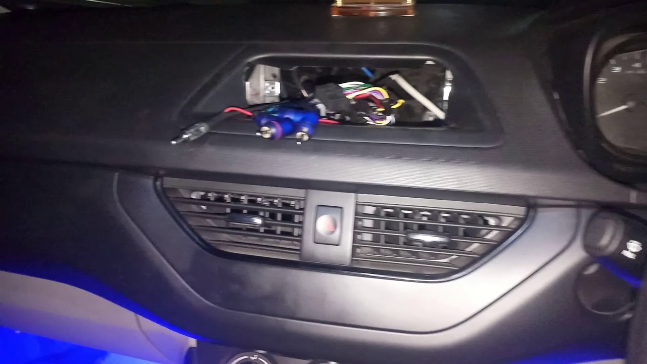 fitting of stereo in tata nexon xe