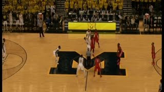 NJIT at Michigan Men's Basketball Highlights